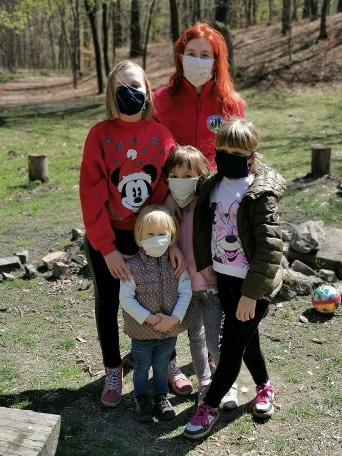 Kasia_family_pandemia_masks